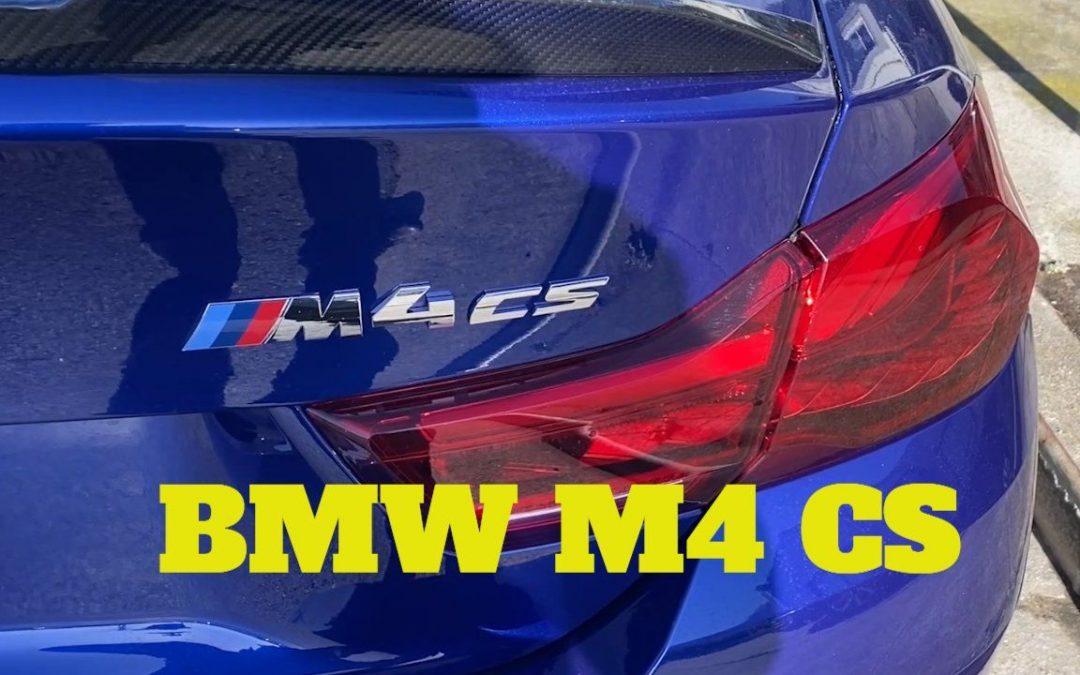 BMW M4 CS, dent removal San Francisco